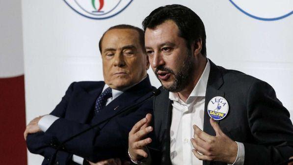 """Governo, Berlusconi: """"Il leader del centrodestra è sempre Salvini"""""""