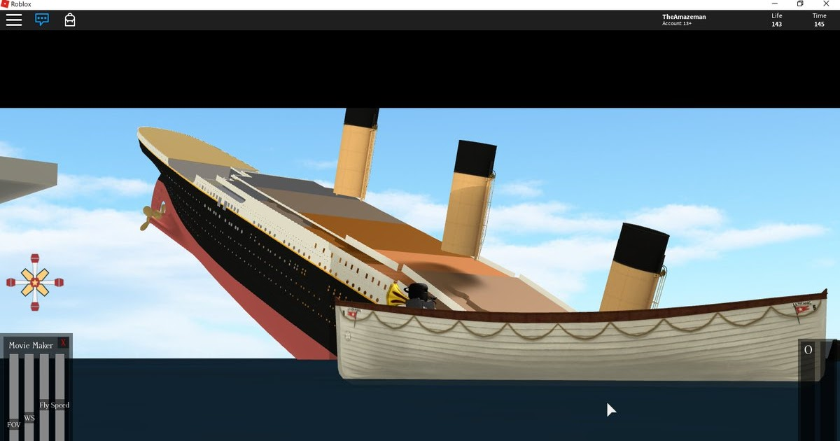 Roblox Titanic Movie Maker | Www rxgate ct