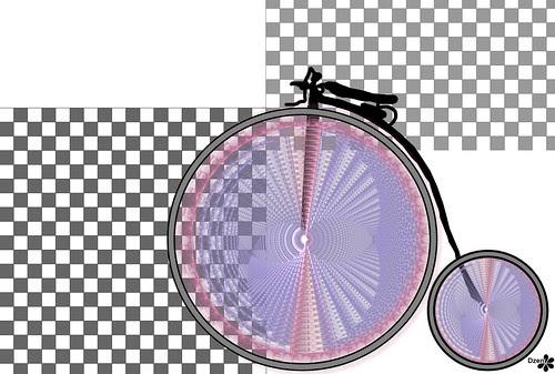 Fractal Bike Wallpaper