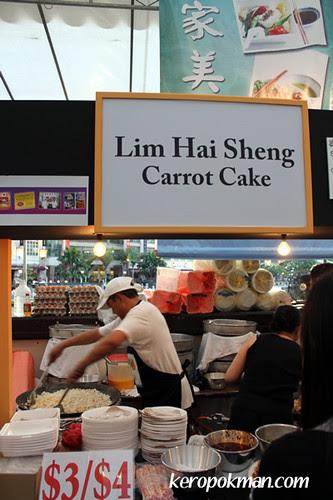 Lim Hai Sheng Carrot Cake