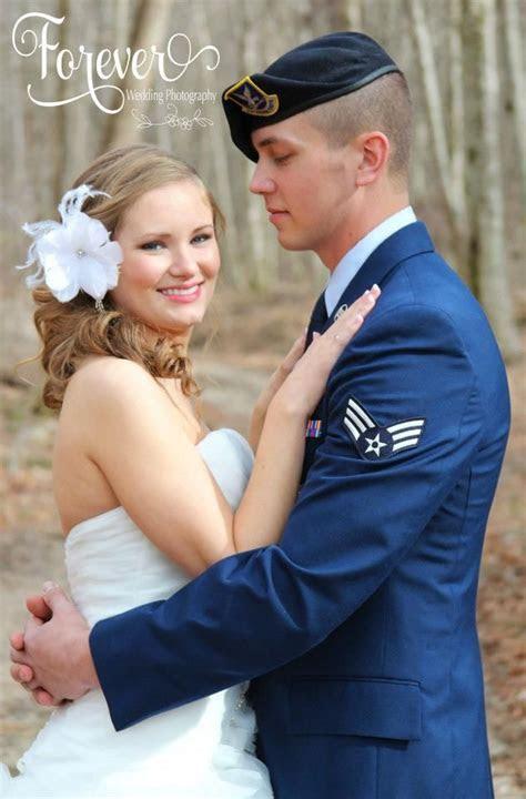 Beautiful Air Force wedding photography   Inspirational