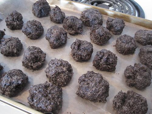 Chocolate Salty Balls
