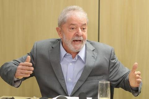 ABSURDO:  Lula diz que PT tem que ocupar espaço ocupado por traficantes e pela Igreja