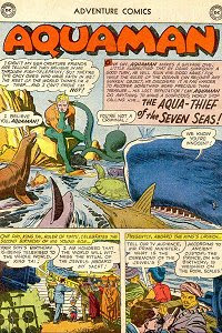 Adventure #276 Aquaman Splash Page