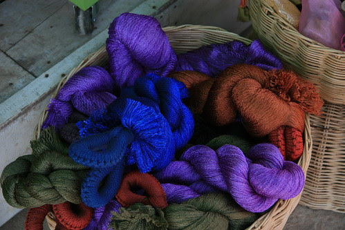 Beatiful silk threads