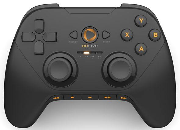 The OnLive gamepad: Look familiar?
