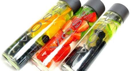 Nước trái cây detox thải độc giảm mỡ | Fruit Infused detox water