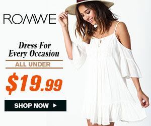 Romwe Casual-Dress