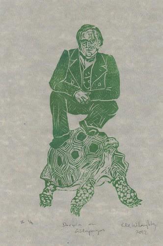 Darwin on Galapagos
