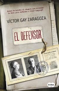 megustaleer - El defensor - Víctor Gay Zaragoza