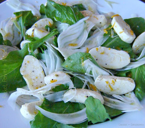 Rocket, Fennel & Mozzarella Salad 1
