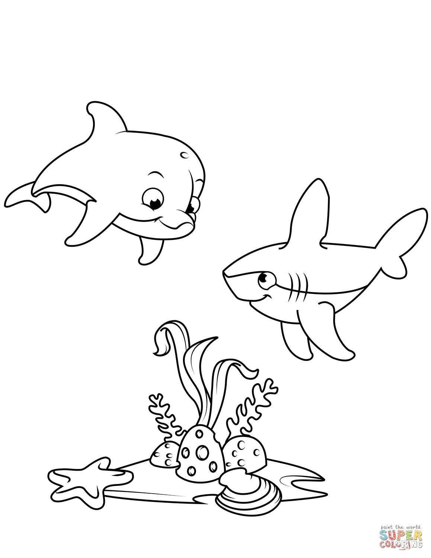 Dibujos De Peces Para Colorear Páginas Para Imprimir Y Colorear Gratis