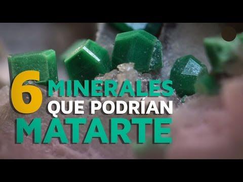 6 Minerales Que Podrían Matarte