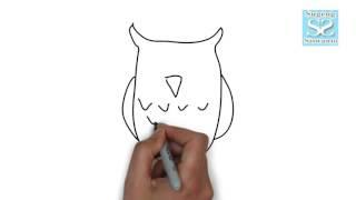 All Clip Of Menggambar Mewarnai Burung Hantu Bhclipcom