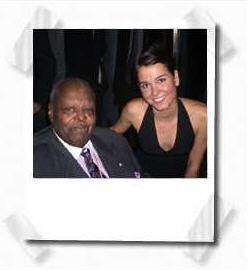 Brandi Disterheft and Oscar Peterson