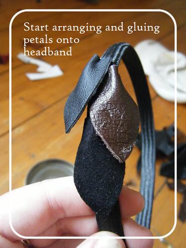 Scrappy leather headband 7