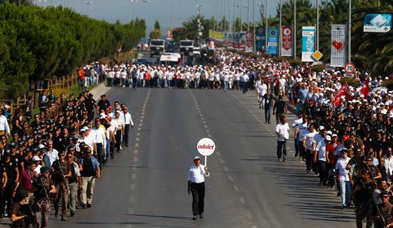 مسيرة التجمع من أجل العدلة