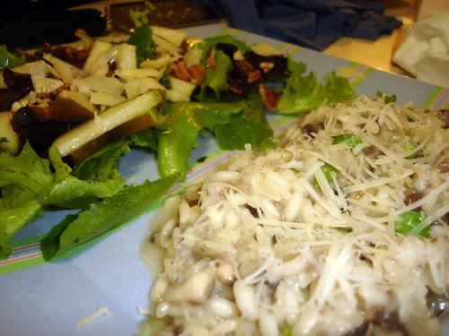 Risotto & Salad
