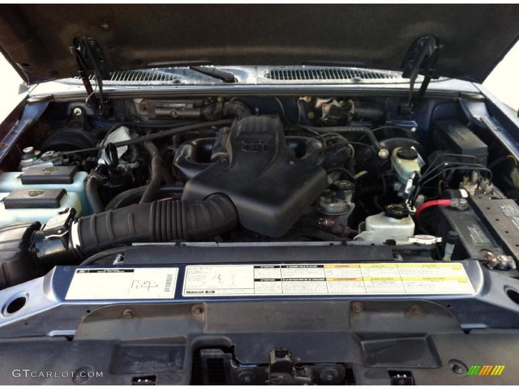 2000 Ford Explorer XLT 4x4 4.0 Liter SOHC 12-Valve V6 ...