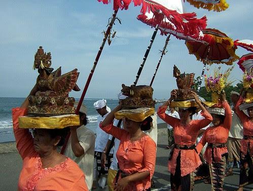 Melasti procession
