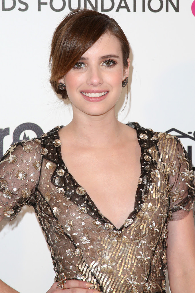 Emma Roberts - 21st Annual Elton John AIDS Foundation's Oscar Viewing Party - Arrivals
