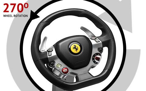 Technical Data About The Thrustmaster Ferrari Vibration Gt