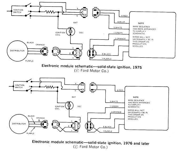 Wiring Diagram For 1975 Mustang