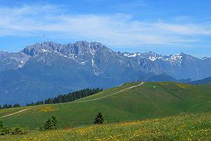 English: Presolana, Lombardy, Italian Alps
