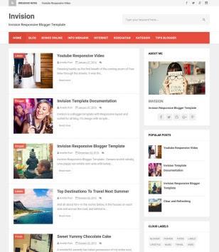 Invision Blogger Templates
