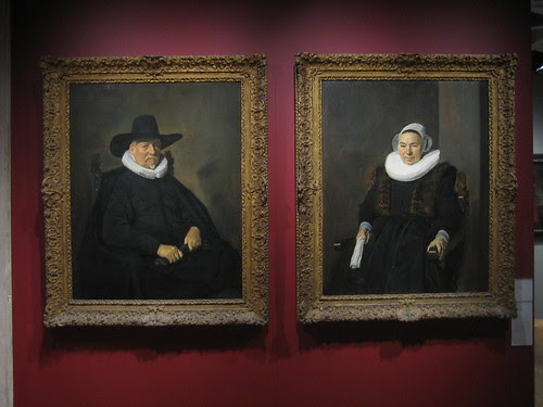 De Heer Bodolphe, 1643 and Mevrouw Bodolphe, 1643, Frans Hals _7721