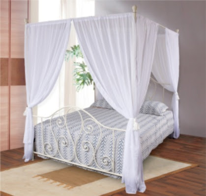4 Poster Bed Curtains Roole