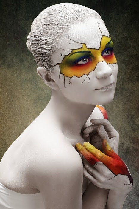 Cool Face Painting Ideas Time for the Holidays - Cool Halloween Face Paint