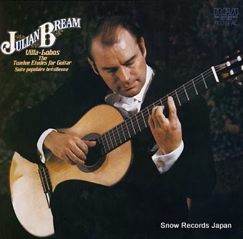 BREAM, JULIAN villa-lobos; twelve etudes