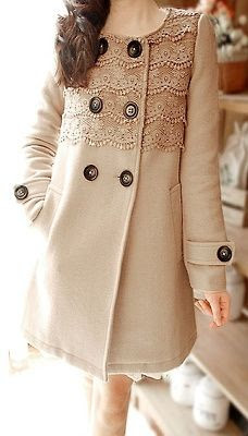 Lace Embellished Jacket