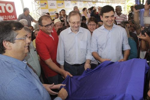 MARANHÃO: Flávio Dino e Humberto Coutinho inauguram 71 km de rodovia que liga Matões a Caxias