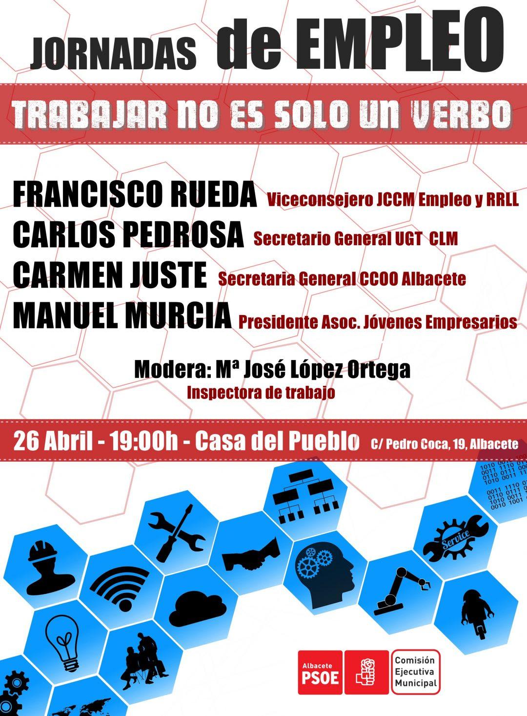 El Psoe De Albacete Organiza Una Jornada Sobre Empleo En El - roblox abc news level 6 hack roblox