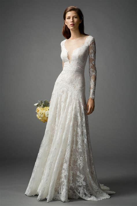 Long Sleeved Wedding Dresses We Love   Rustic Wedding Chic