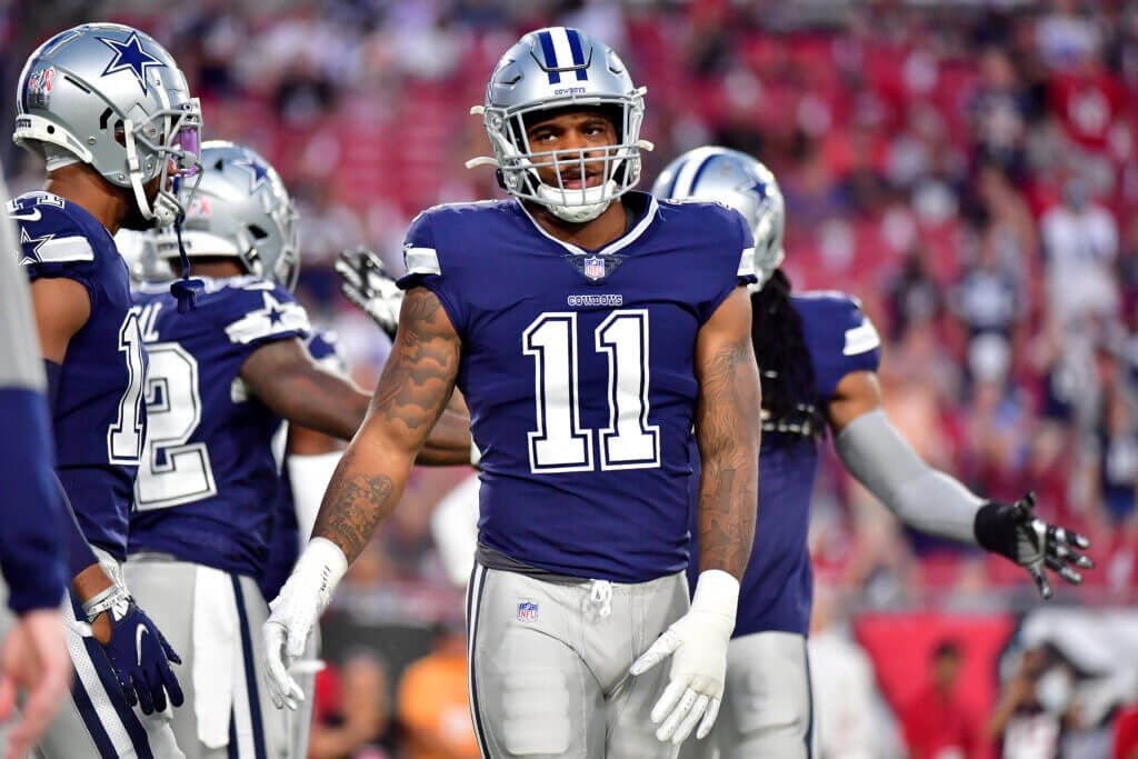 Why eight Cowboys' defenders played the first offensive snap of their NFL careers in Tampa Bay