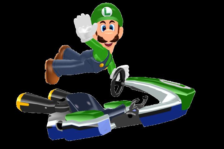MMD Luigi Kart