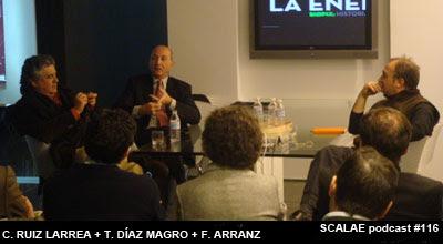 César Ruiz Larrea en Zona de Expertos para SCALAE
