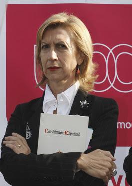 Rosa Díez intenta 'conquistar' Cataluña y Ciudadanos la acusa de robarle su base de datos