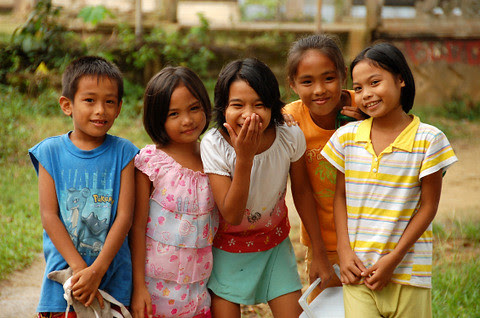 Boholano kids