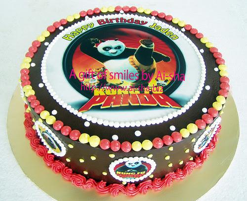 Birthday Cake Edible Image Kungfu Panda