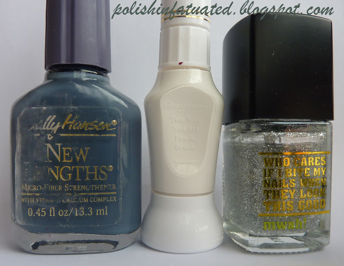 SH nail art polishes