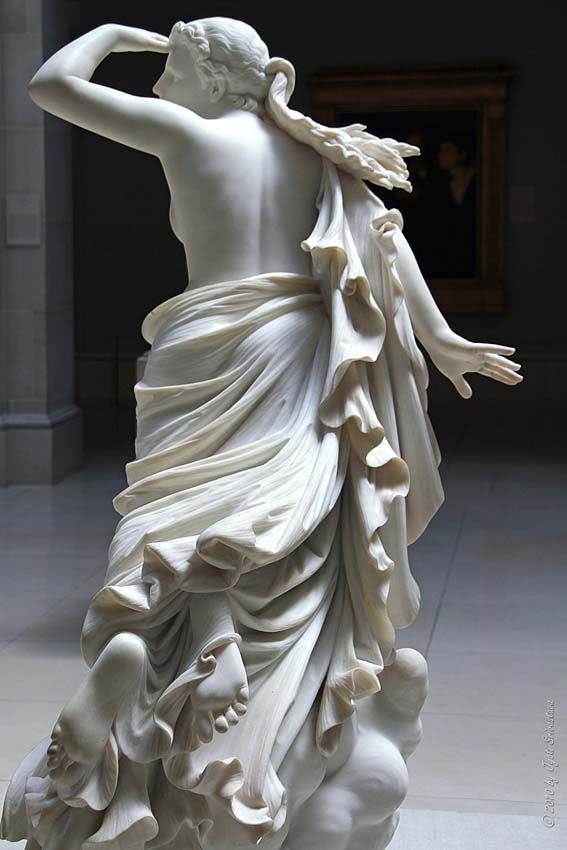 The Lost Pleiade. Randolph Rogers [1825-1892] - The Art Institute of Chicago