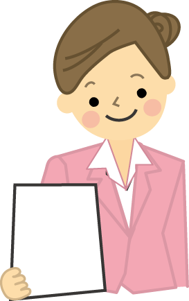 仕事女性のイラスト無料イラストフリー素材