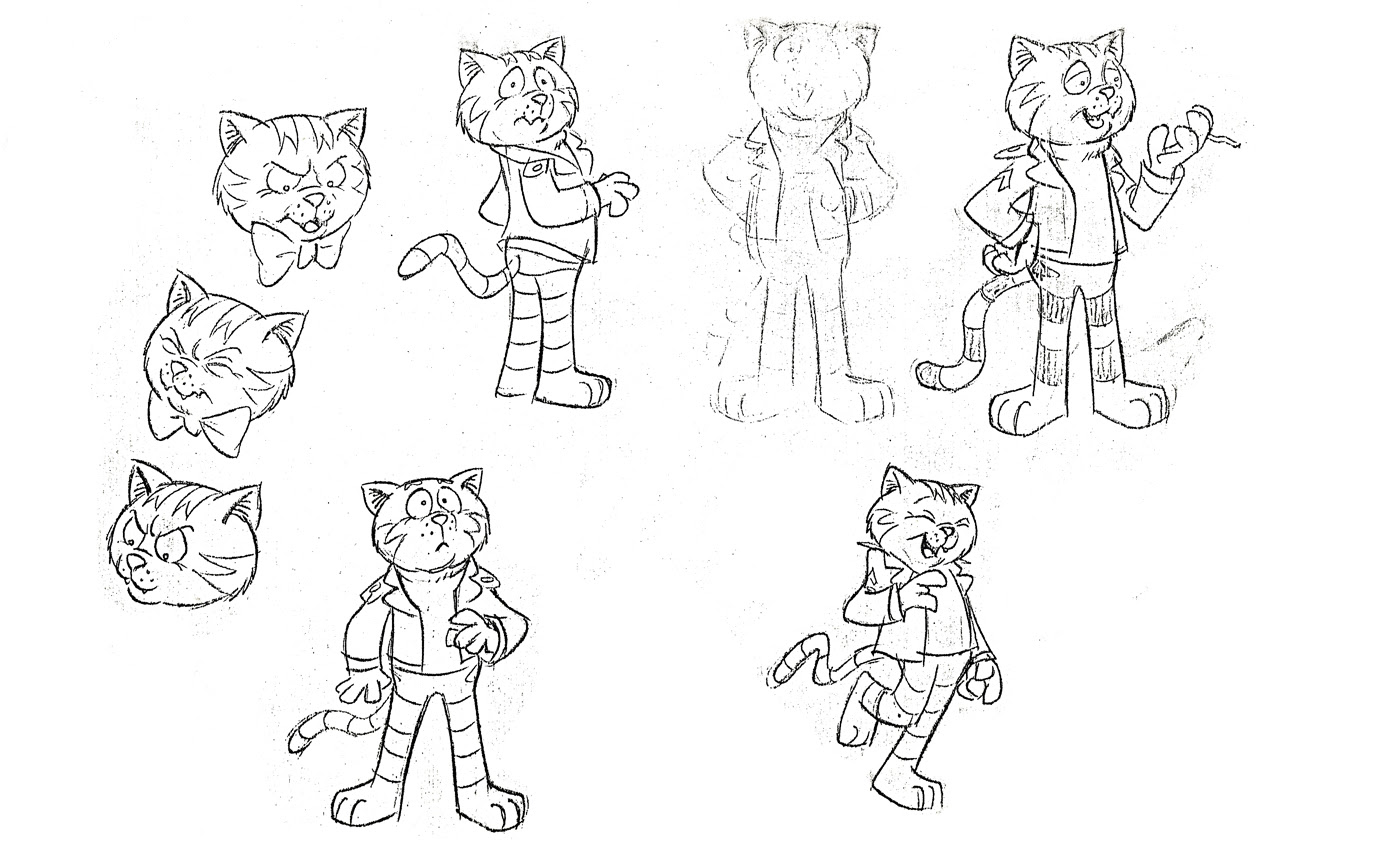 Fritz the Cat coloring pages