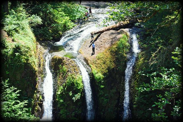 Triple Falls - Columbia River Gorge