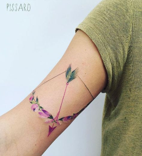 Say It In Ink 12 Archery Tattoos We Love