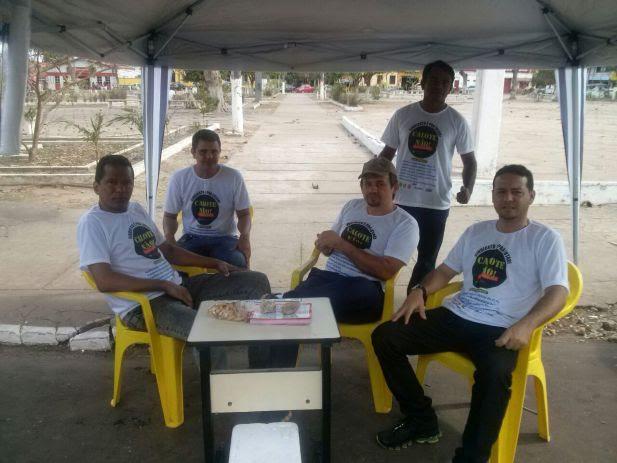 Servidores da Comarca de Pinheiro em GREVE.